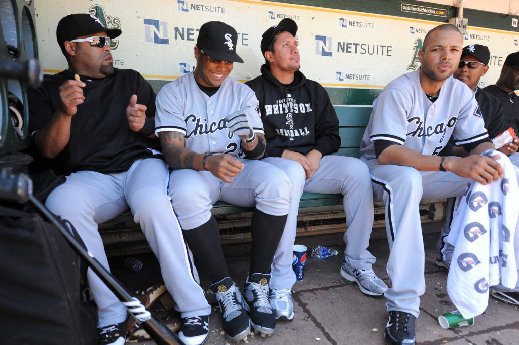 Chicago White Sox Dugout